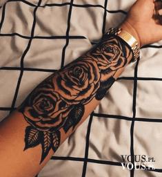 Różany Tatuaż