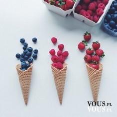 lody ze świeżych owoców!