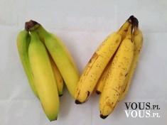 Jakie banany wybierać? czy niedojrzałe banany są lepsze niż z czarnymi plamami?