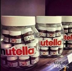 Słoiki Nutella pełne małych Nutelli! Kto kocha nutellę? ile kalorii ma nutella?