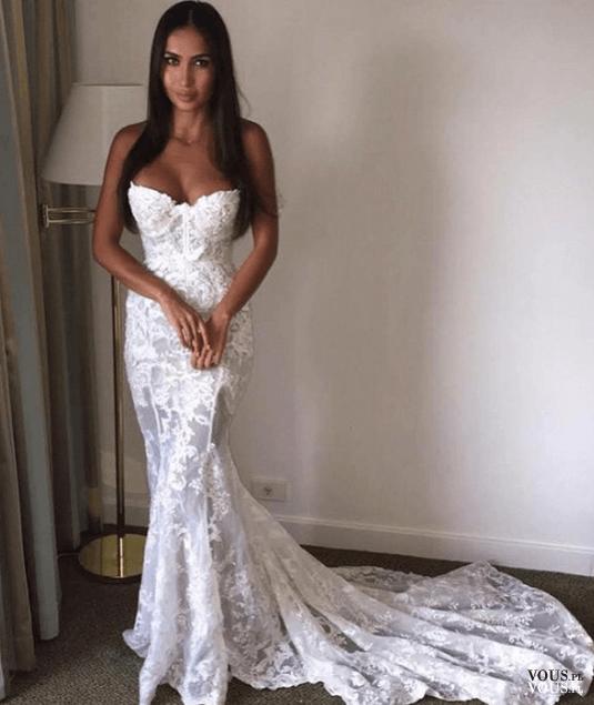 Suknia ślubna Typu Syrena Vouspl