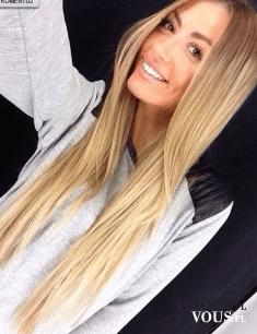 proste blond włosy, czy prostowanie niszczy włosy
