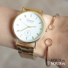 kliknij w link u góry po prawej :) Zestaw ze sklepu OTIEN. zegarek różowy ażurowy i różowa koron ...