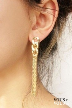 złote eleganckie kolczyki, gdzie kupie złote kolczyki