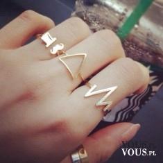 oryginalne złote pierścionki, ciekawe pierścionki