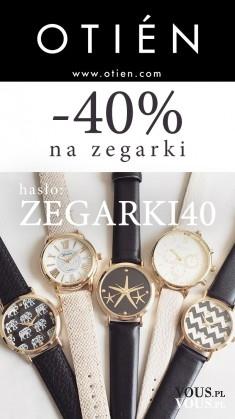 -40% dziś na wszystkie zegarki!