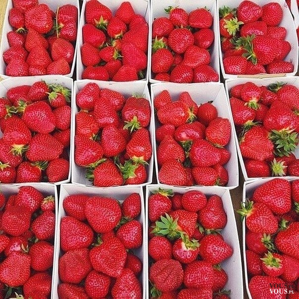 Zdrowe, pyszne i chrupiące!- uwielbiam truskawki, a Wy? :)