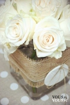 białe róże, co symbolizuje biała róża