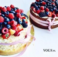 Efektowne owocowe torty. Pyszne i lekkie owocowe słodkości.