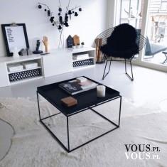 stylowy salon, pięknie urządzony salon