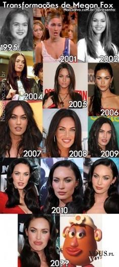 metamorfoza Megan Fox
