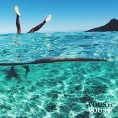 lazurowa czysta woda, wakacje nad morzem