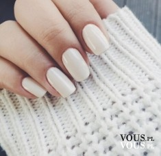 biały lakier do paznokci, biały manicure