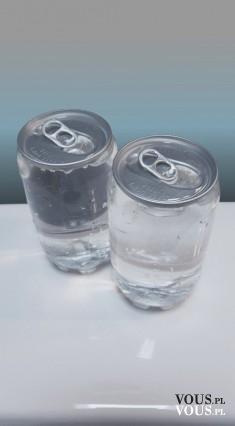woda mineralna w puszcze, nowość, woda w puszkach