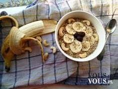 bananowa owsianka, ile kalorii ma banan, jak wybrać dobre banany