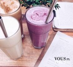 dwa rodzaje smoothie, fioletowy smoothie, jak zrobić smooothie