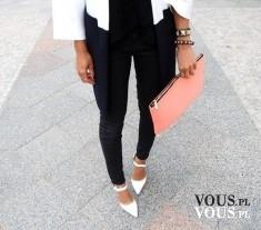 białe szpilki, buty z noskiem