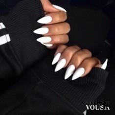 białe mocne paznokcie, jak dbać o paznokcie