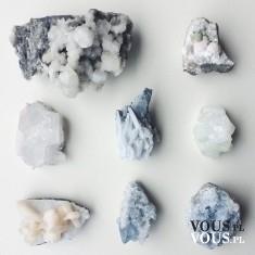 kamienie, niebieskie minerały
