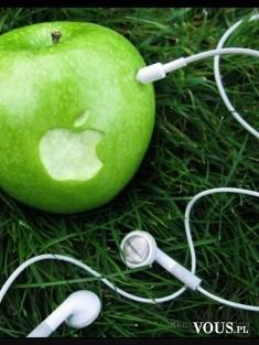 zielone jabłko, apple