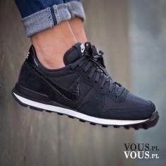 czarne buty nike, buty do biegania