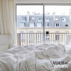 Sypialnia w kolorze ecru.