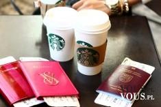 Kawa Starbucks. Przerwa na kawę.