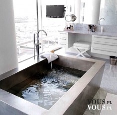 stylowo urządzona łazienka