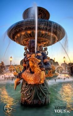 piękna fontanna