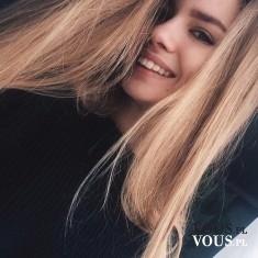 naturalny look, ładny kolor włosów