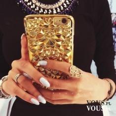 złota obudowa na iPhone, złoty iPhone