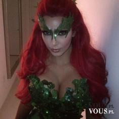 Przebranie Kim Kardashian na Halloween. W co przebierają się celebryci na Halloween?