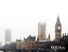Big Ben – wieża zegarowa w Londynie w Wielkiej Brytanii.