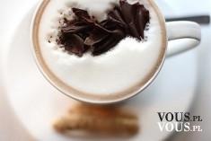 Kawa z gorzką czekoladą. Jaką kawę lubicie najbardziej?