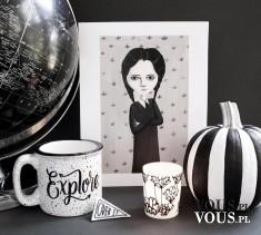 Zestaw na Halloween – czarno-biały zestaw akcesoriów na Halloween. Jest klimat!