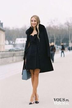 Total black outfit – stylizacja elegancka