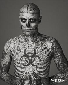 Zombie Boy – nie musi się przebierać na Halloween ;)
