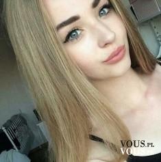 Subtelny makijaż, podkreślone brwi i oczy, naturalny look