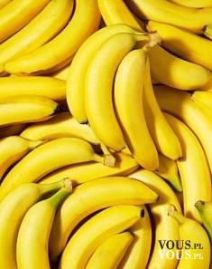 Banany- źródło licznych witamin i składników mineralnych.