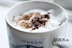 Kawa w Londynie, aromatyczna kawa z dodatkiem cynamonu, pomysły na dobrą kawę,