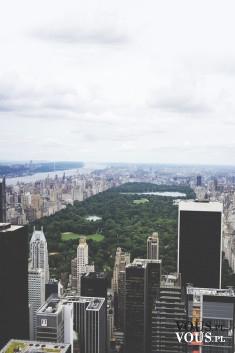 Panorama miasta, widok z lotu ptaka, metropolia