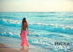Spacer na plaży, wakacje nad morzem, kto już nie może doczekać się lata?:)