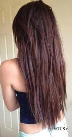 Brązowe włosy, koloryzacja włosów, jaką farbę wybrać by osiągnąć taki efekt?