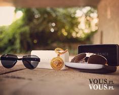 Versace, akcesoria Versace, stylowe okulary, okulary przeciwsłoneczne Versace