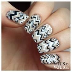 Wzorki na paznokciach, jak wykonać wzorki na paznokciach, malowanie i stylizacja paznokci