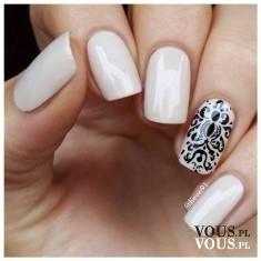 Białe paznokcie, wzorki na paznokciach, jak wykonać wzorek na paznokciu