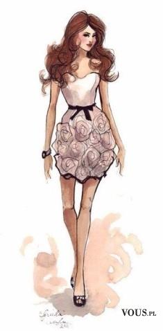 Kobieca romantyczna sukienka, sukienka idealna na randkę, sukienka w kolorze pudrowego różu,