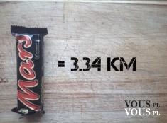 Ile kalorii ma Mars? Batonik Mars jest bardzo kaloryczny. Nie jedz go na diecie. Nie jest zdrowy.