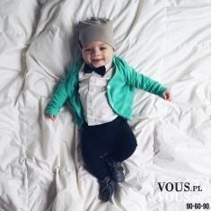 Mały bobas, elegancik, czy ubierać czapkę niemowlakowi latem? Modny niemowlak,