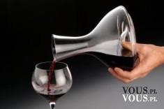 Karafka szklana na wino (1 litr) – Auerhahn